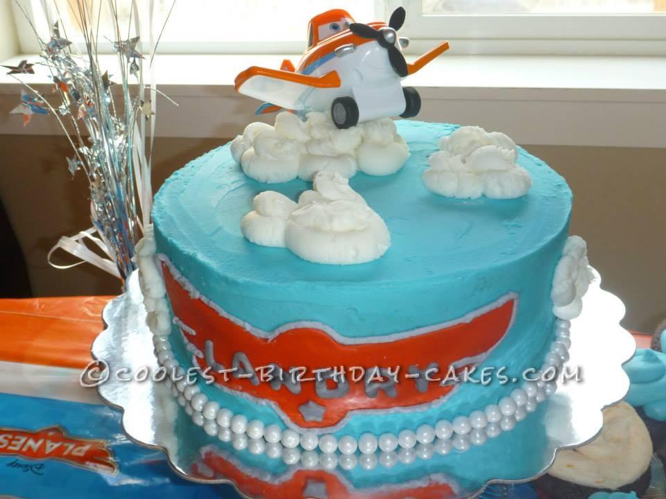 Coolest Disney Planes Cake