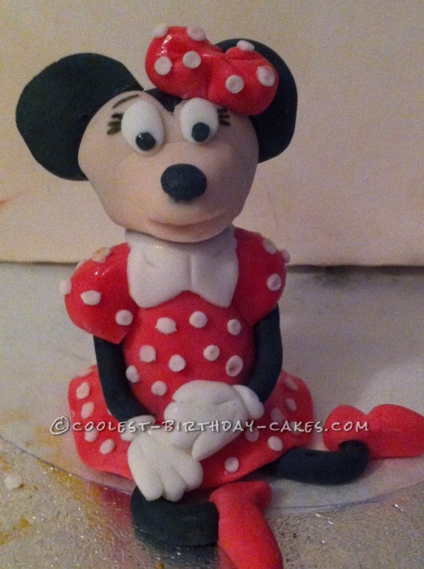 Coolest Minnie Mouse Birthday Cake Idea