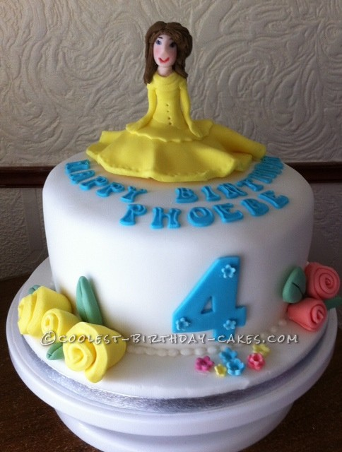 Coolest Princess Cake