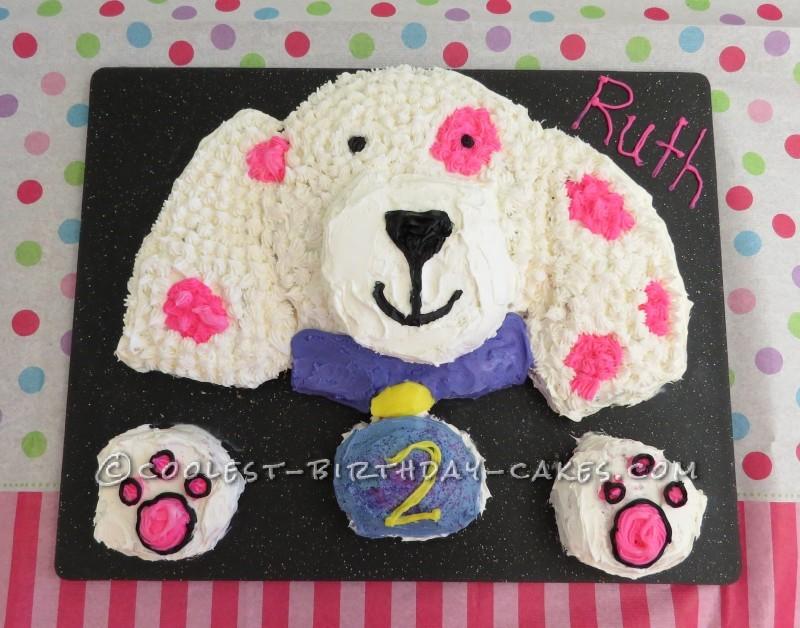 Cool Puppy Cake