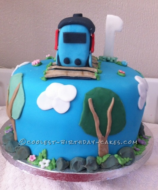 Coolest Thomas the Tank Cake