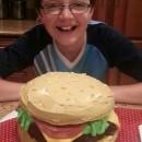 Coolest Cheeseburger Cake