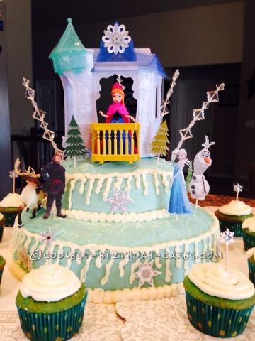 Coolest Disney Frozen Birthday Cake