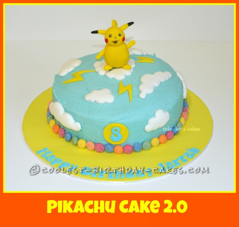 Cool Pokemon Pikachu Cake