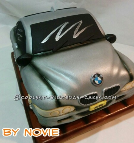 BMW is5 cake