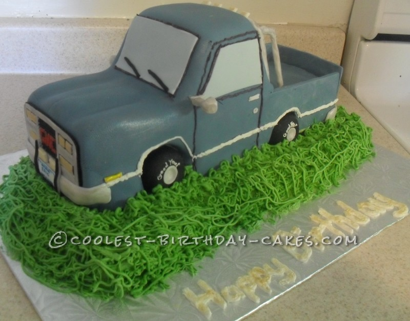 Coolest Pickup Truck Cake