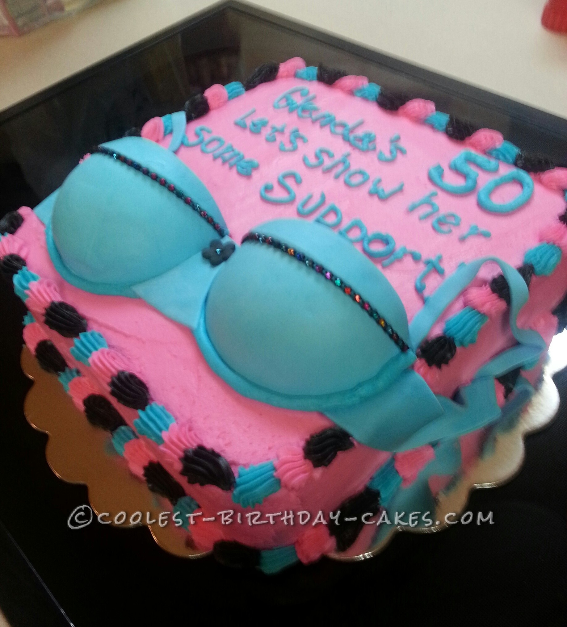 Just For Fun Bra Cake
