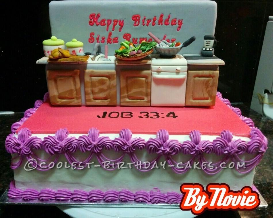 Coolest Kitchen Appliances Cake