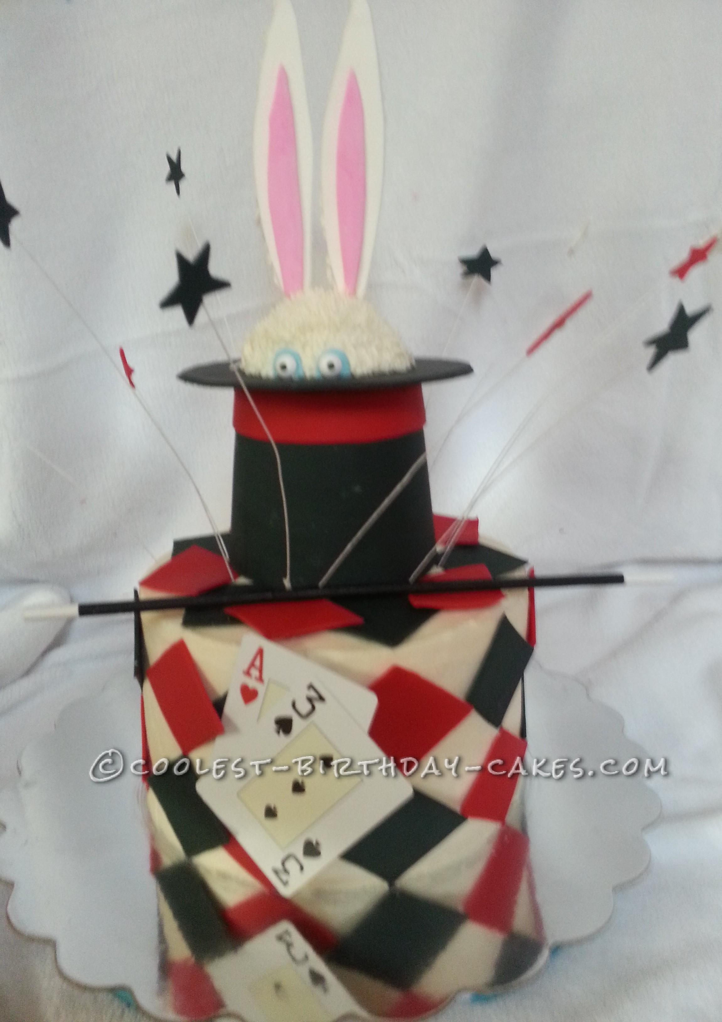Magic Themed 13th Birthday Cake