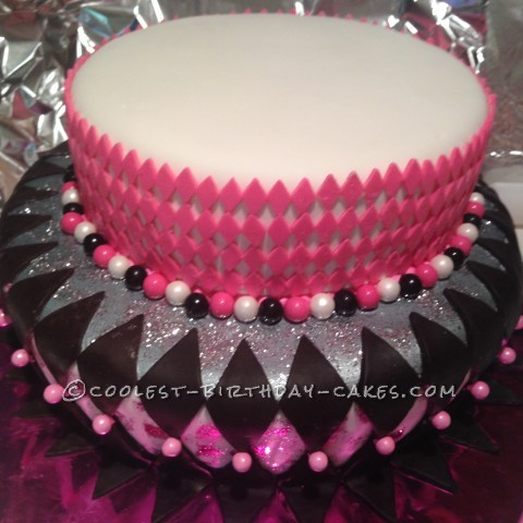 Too See Silver and fondant before toppers