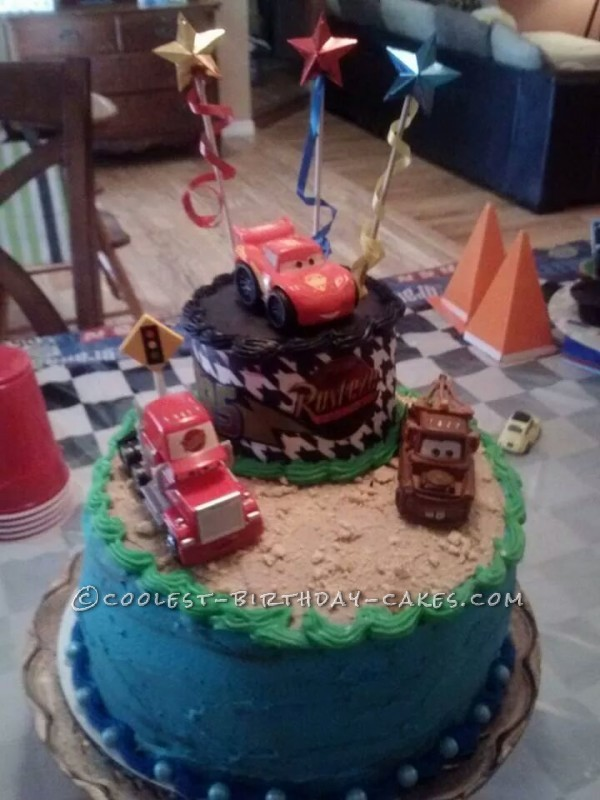 Awesome Cars Cake