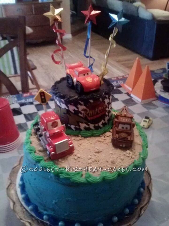 Awesome Cars Cake