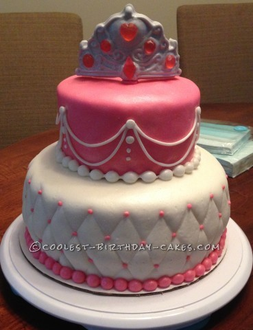 Beautiful Last-Minute Princess Birthday Cake - Coolest Princess Cakes