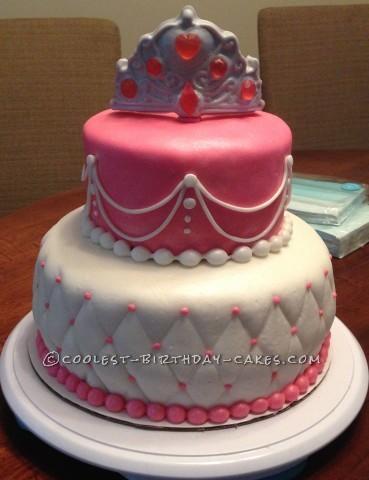 Beautiful Last-Minute Princess Birthday Cake