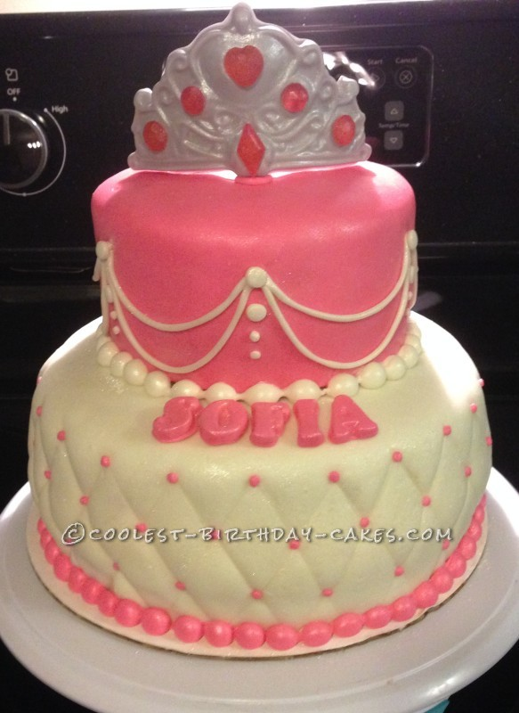 Beautiful Last Minute Princess Birthday Cake