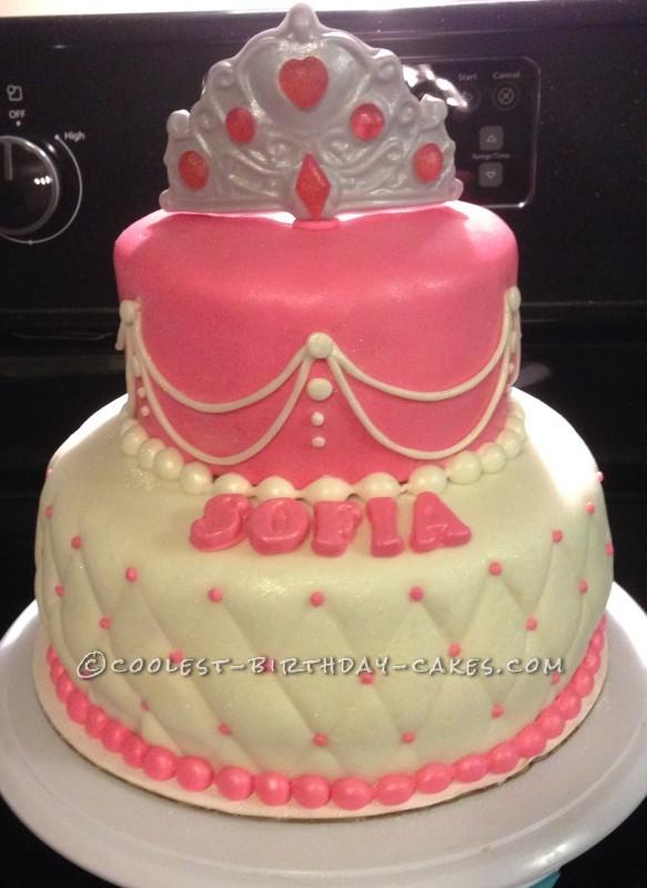 Cool Beautiful Last Minute Princess Birthday Cake Funny Birthday Cards Online Elaedamsfinfo
