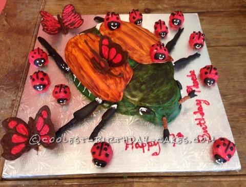 Huge Beetle Cake