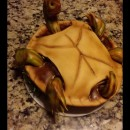 Challenge Upside Down Turtle Cake