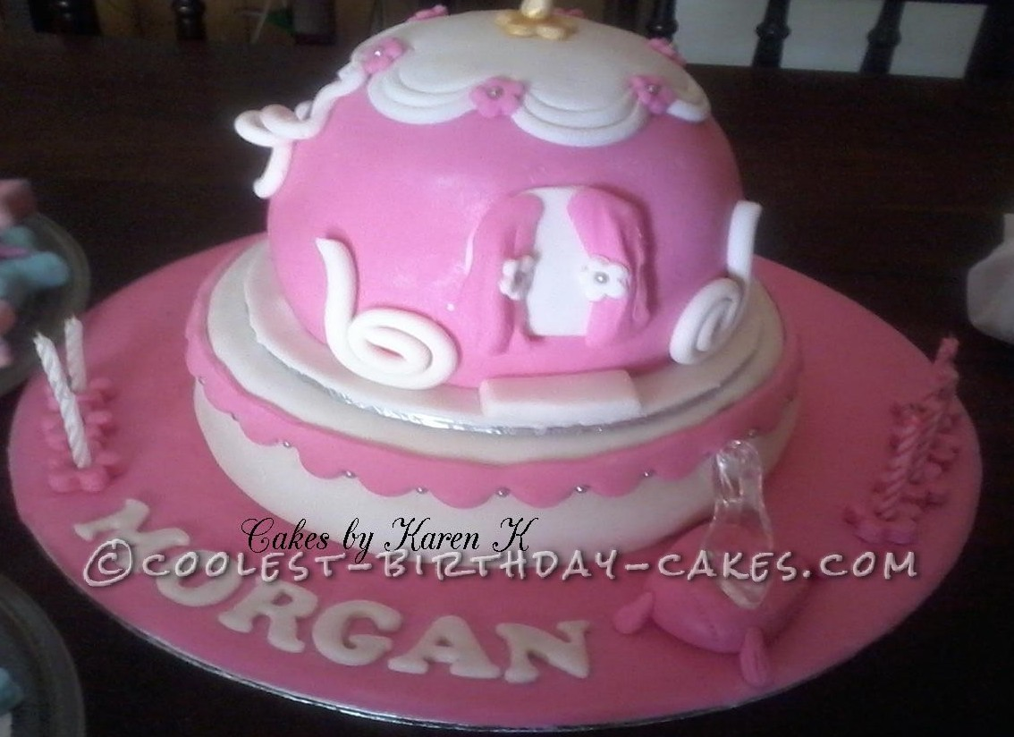 Coolest Cinderella Carriage Cake