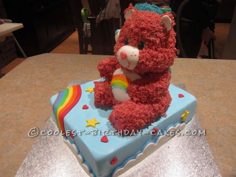 Awesome 3D Care Bears Cake