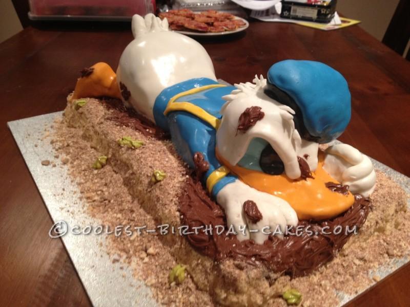 Coolest 3d Donald Duck Cake