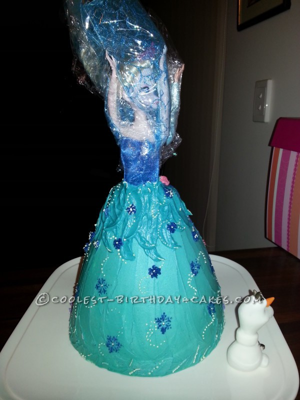 Swell Coolest Frozen Anna And Elsa Cake Funny Birthday Cards Online Fluifree Goldxyz