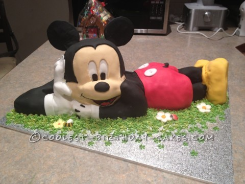 Swell 12 Coolest Mickey Mouse Cake Ideas Coolest Birthday Cakes Personalised Birthday Cards Vishlily Jamesorg