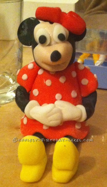 Edible Minnie Mouse Figure