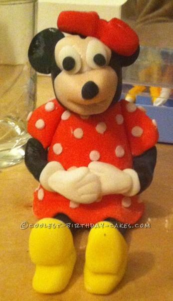Edible Minnie Mouse Figure