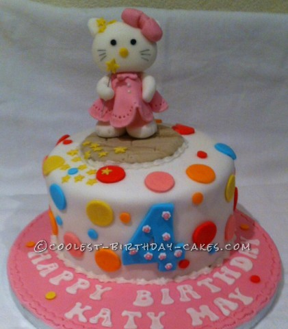 Mr. TUmbles Hello Kitty Cake