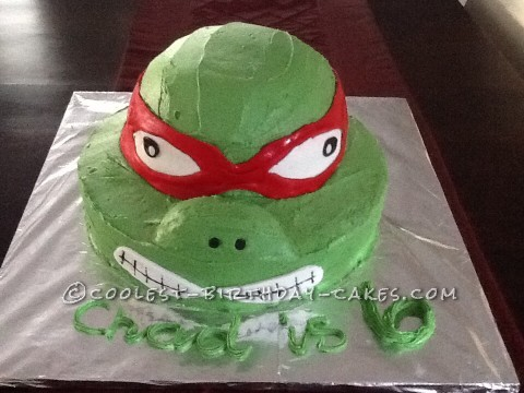 Coolest Ninja Turtle Cake