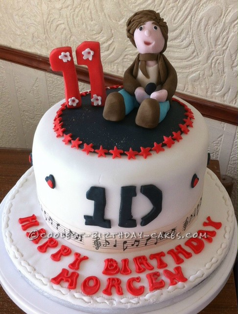 Awe Inspiring Coolest One Direction Cake Funny Birthday Cards Online Elaedamsfinfo