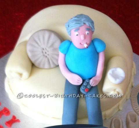 Sofa Cake Close Up