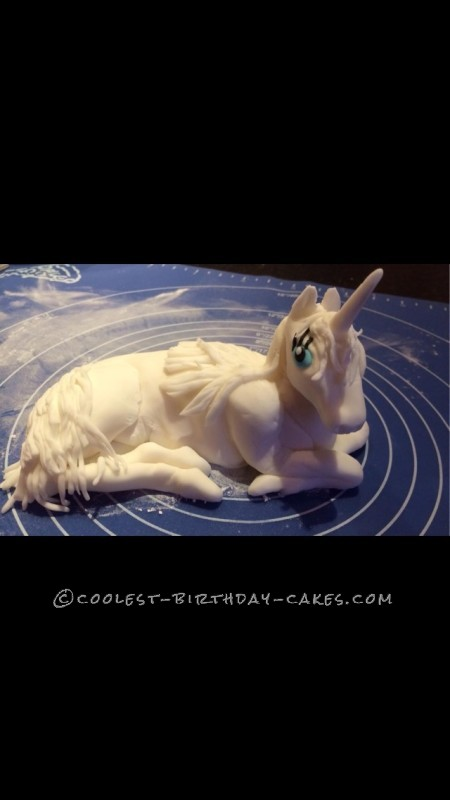 Coolest Unicorn Birthday Cake