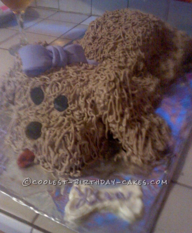 Cool Dog Cake for a Dog Lover