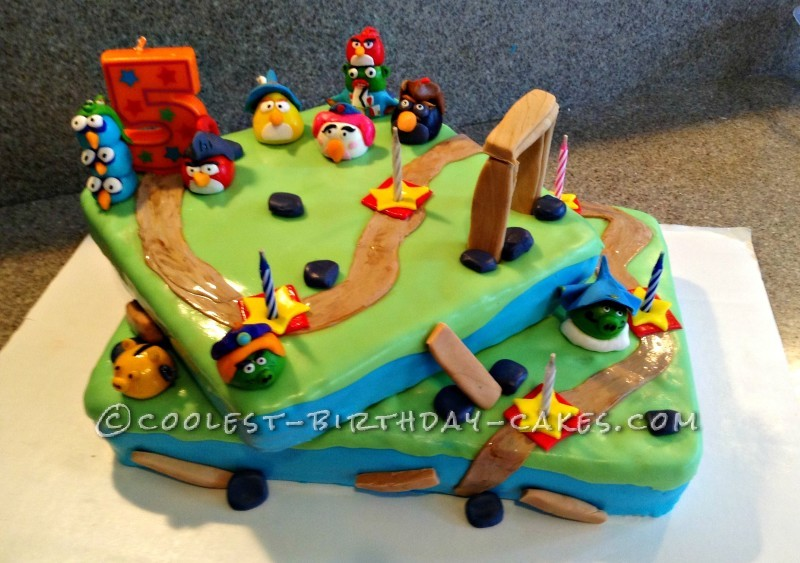 EPIC Angry Birds Cake