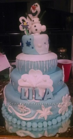 Coolest Disney Frozen Birthday Cake