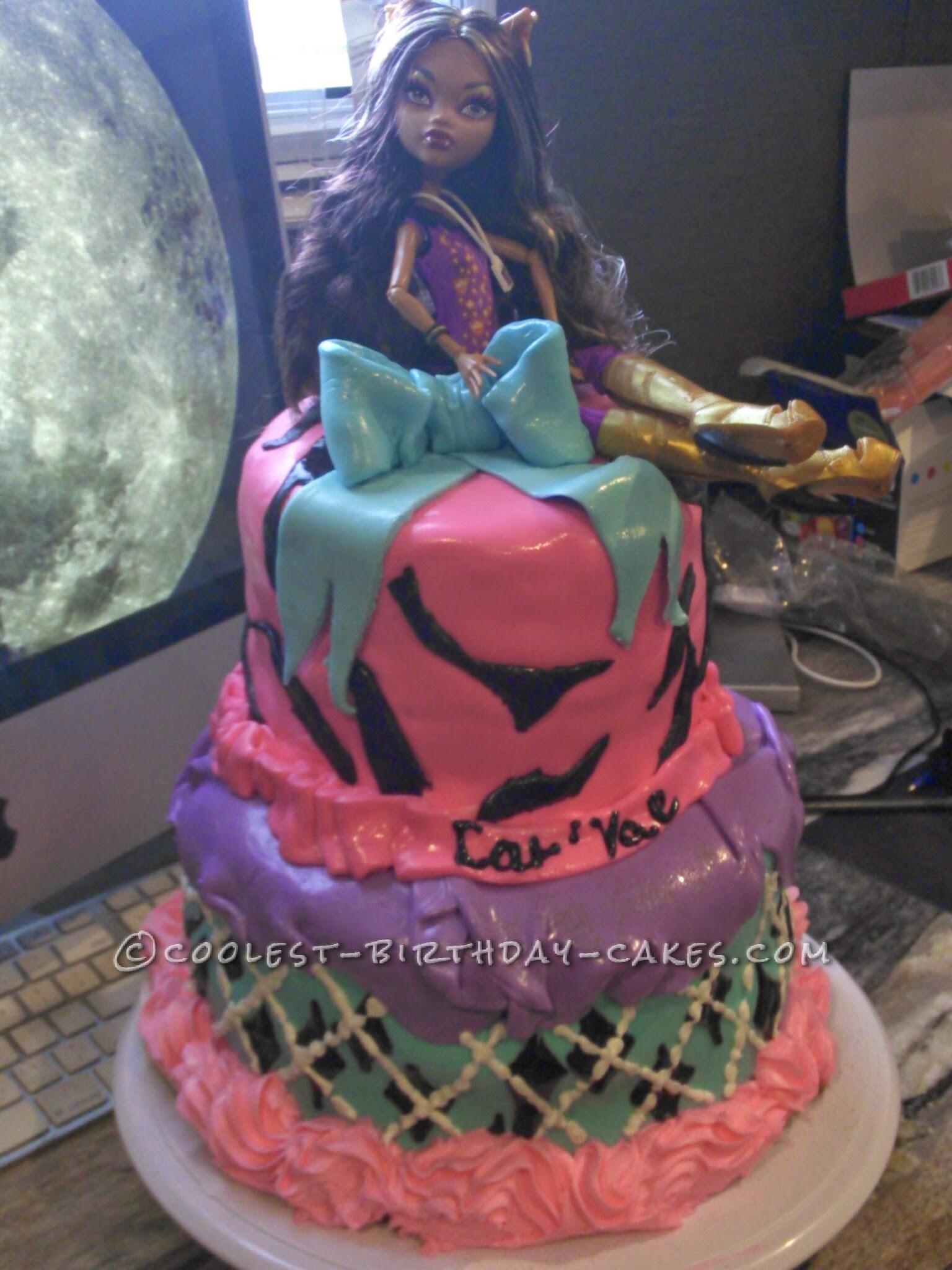 Monster High Birthday Cake Idea