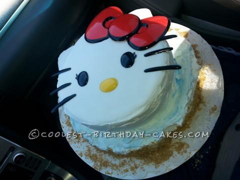 Simplest Hello Kitty Cake Idea