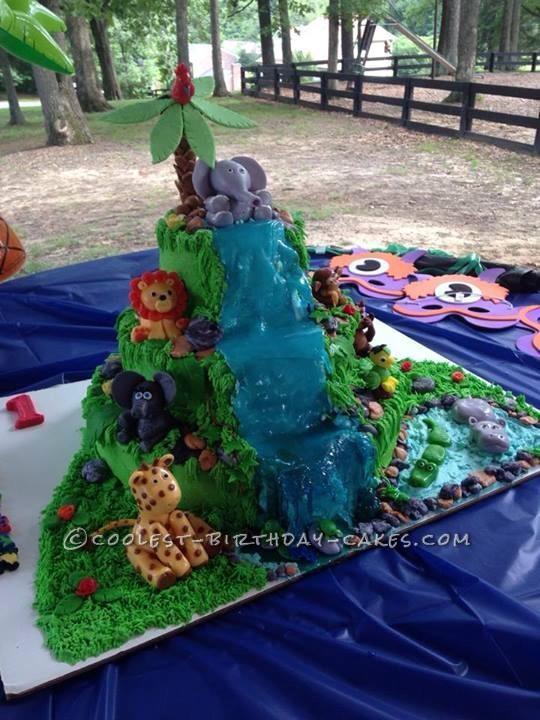 Imagination Gone Wild Safari Cake
