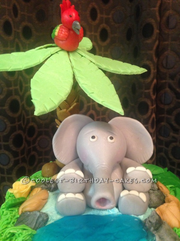 Imagination Gone Wild Safari Cake