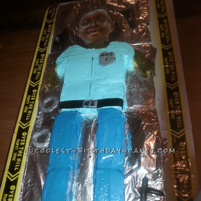 Life-Sized Policeman Birthday Cake
