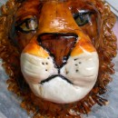 Awesome Lion's Head Birthday Cake