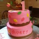 Look Whoo's One Owl Cake