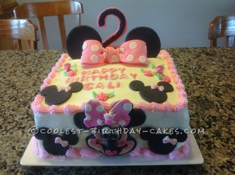 Minnie Mouse Birthday Cake