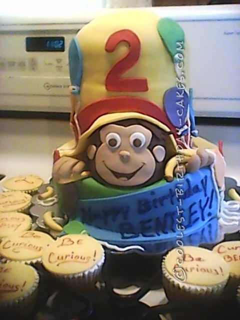 My First Curious George Cake