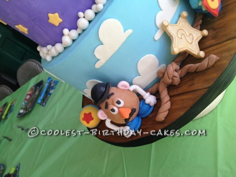 Coolest Toy Story Birthday Cake
