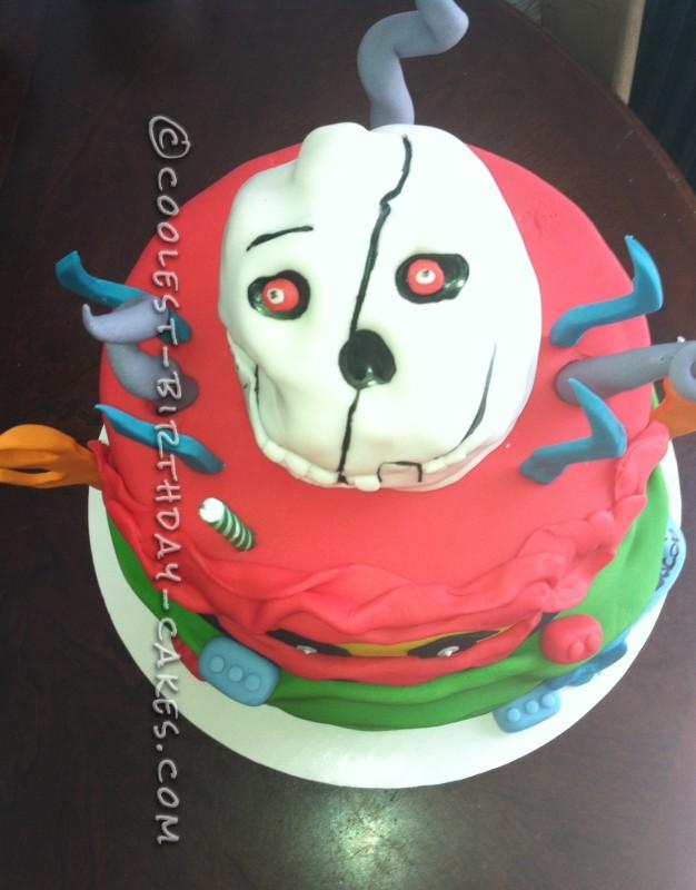 Cool Ninjago Lego Master Cake