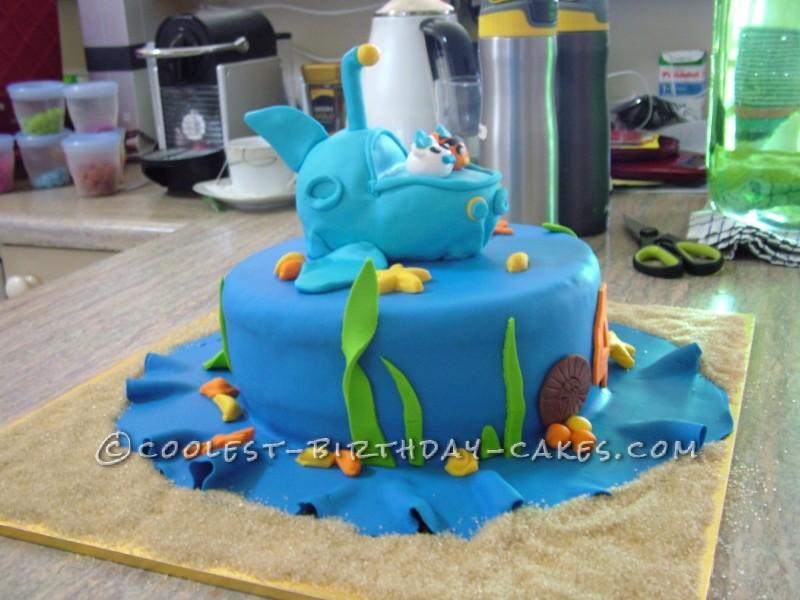 Octonauts to the Rescue Birthday Cake