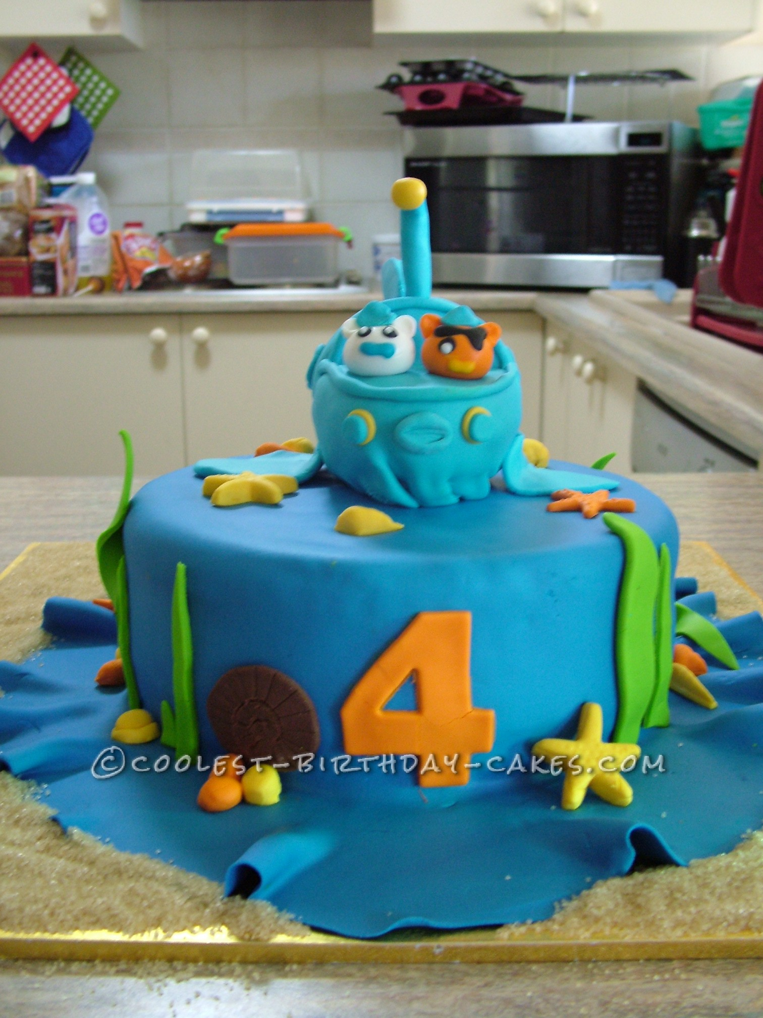 Octonauts To The Rescue Birthday Cake